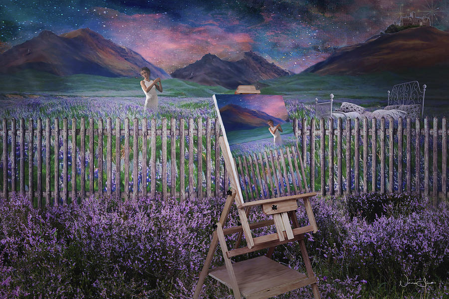 I Will Paint The Sky For You by Norma Slack