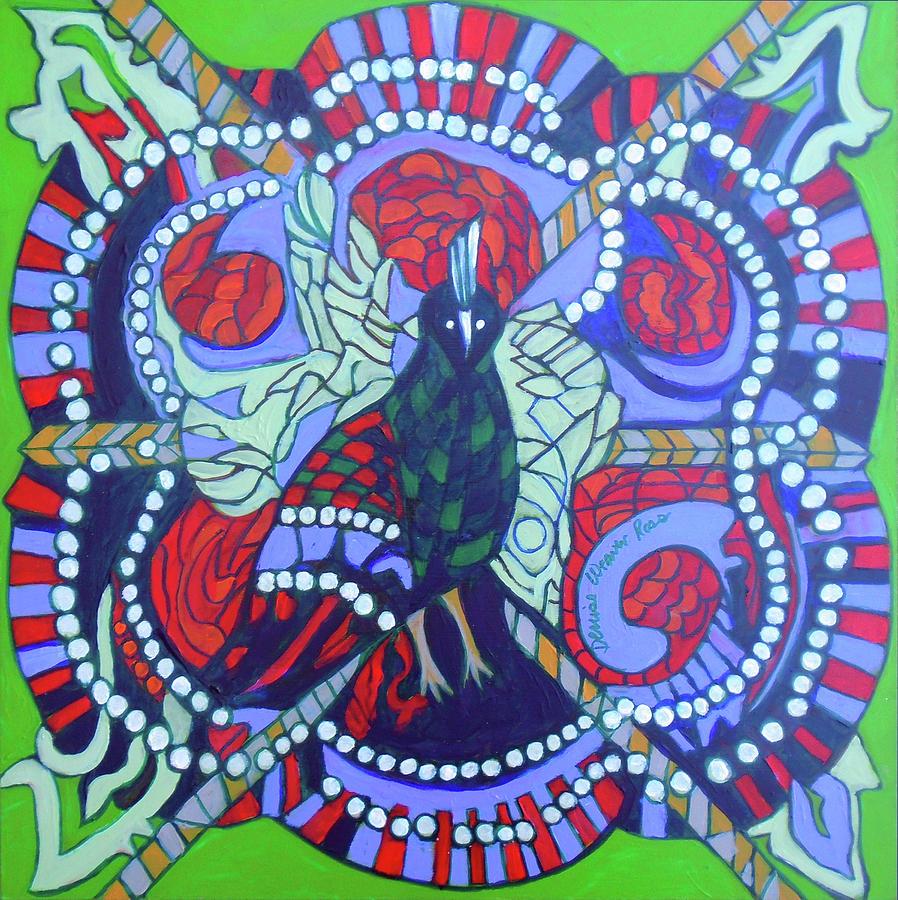Magic Painting - Ibong Adarna II by Denise Weaver Ross