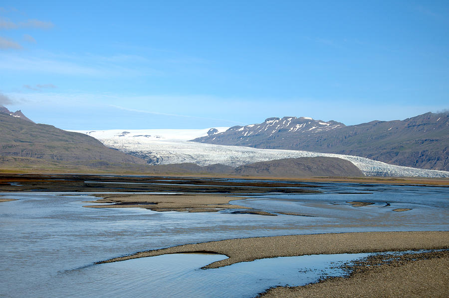 Sea Photograph - Iceland Landscape by Ambika Jhunjhunwala