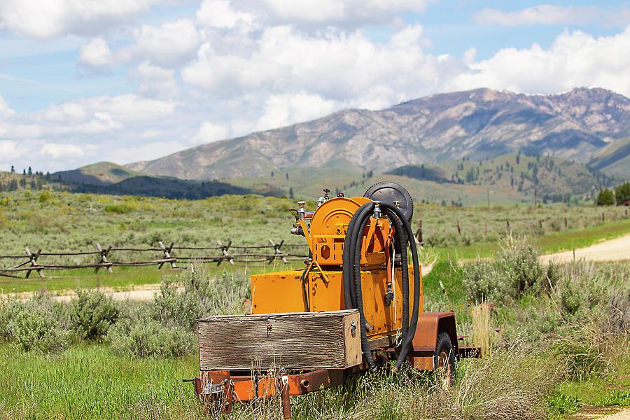 Idaho Landscape by Dart Humeston