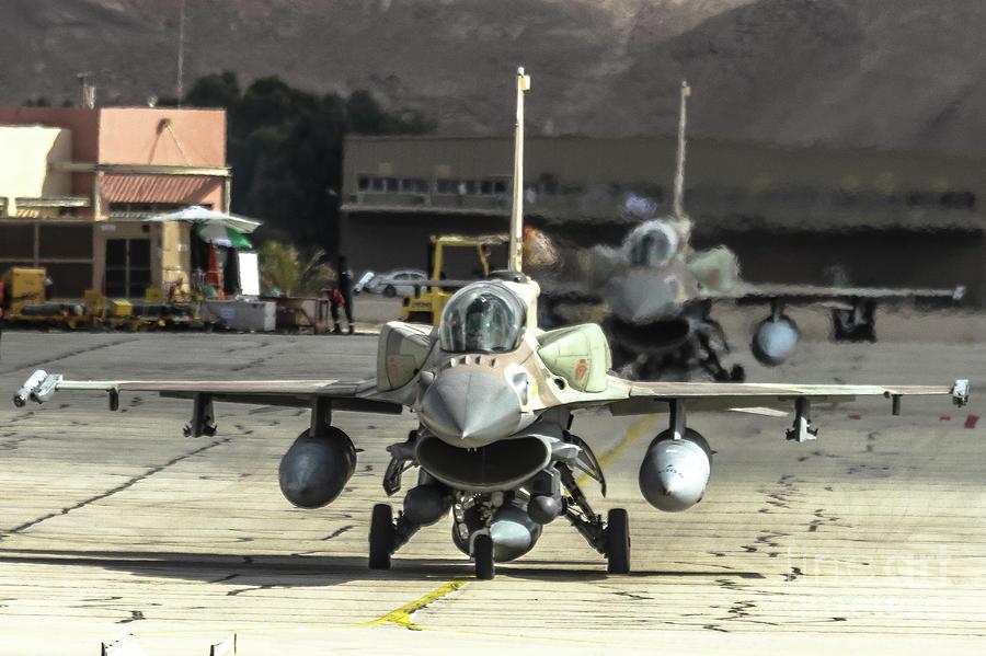 IDF/AF F-16I Sufa - Blue Flag 2017 by Amos Dor