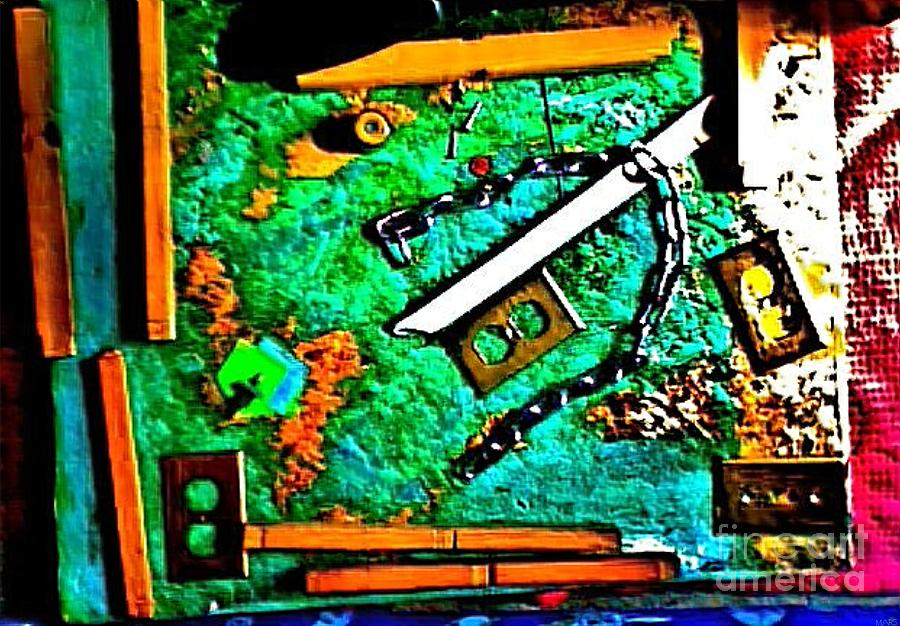 Constant Mixed Media - Im Not The Same Person I Was At The Beginning Of This Sentence by Contemporary Luxury Fine Art