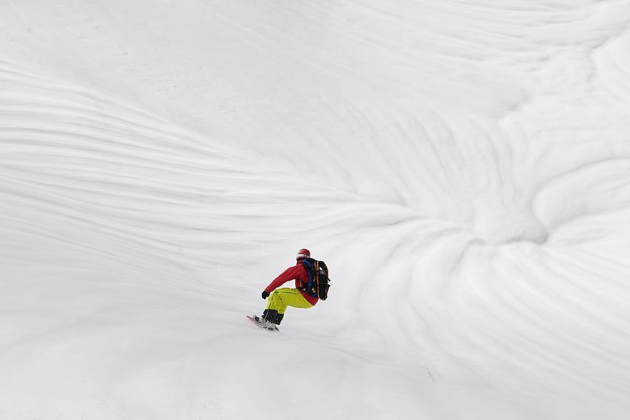Snowboarding Photograph - Image Of The Week 3 by Fredrik Schenholm