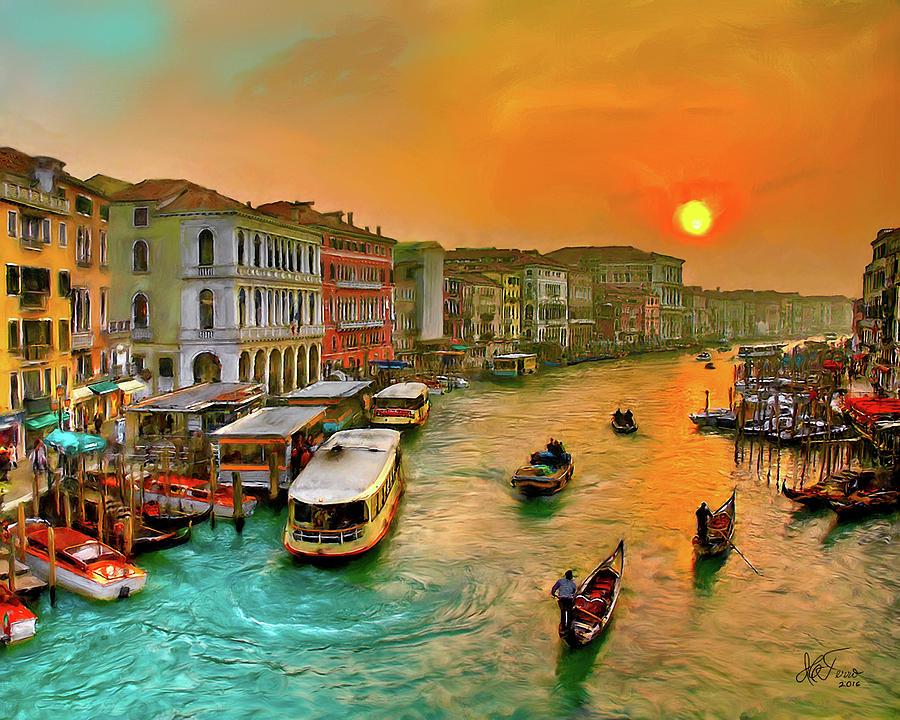 Imbarcando. Venezia by Juan Carlos Ferro Duque