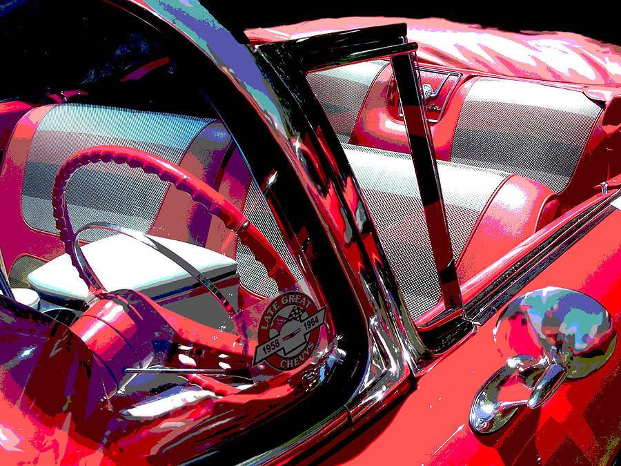 Car Photograph - Impala by Audrey Venute