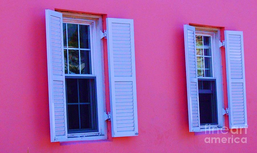 Shutters Photograph - In The Pink by Debbi Granruth