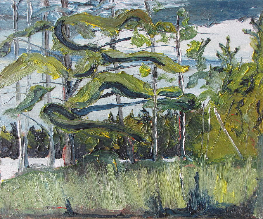Fournier Painting - In The Woods by Francois Fournier