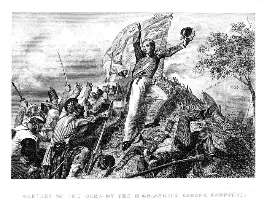 1857 Photograph - India: Sepoy Rebellion, 1857 by Granger
