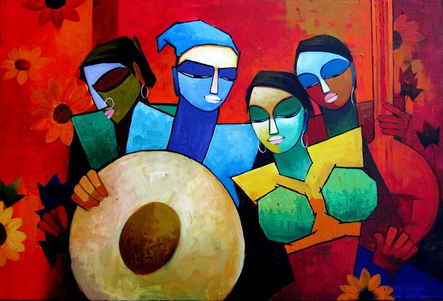 Indian Culture Painting by Vivek Bharambe