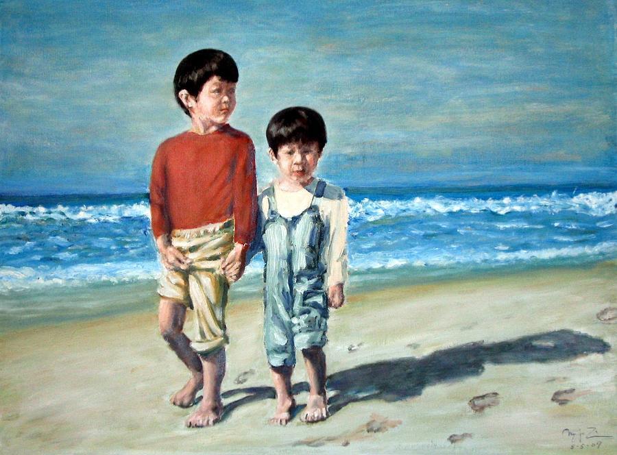 Innocence Painting by Menq Tsai