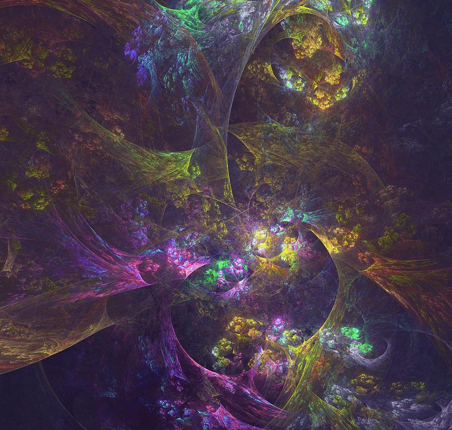 Inside Another World Digital Art
