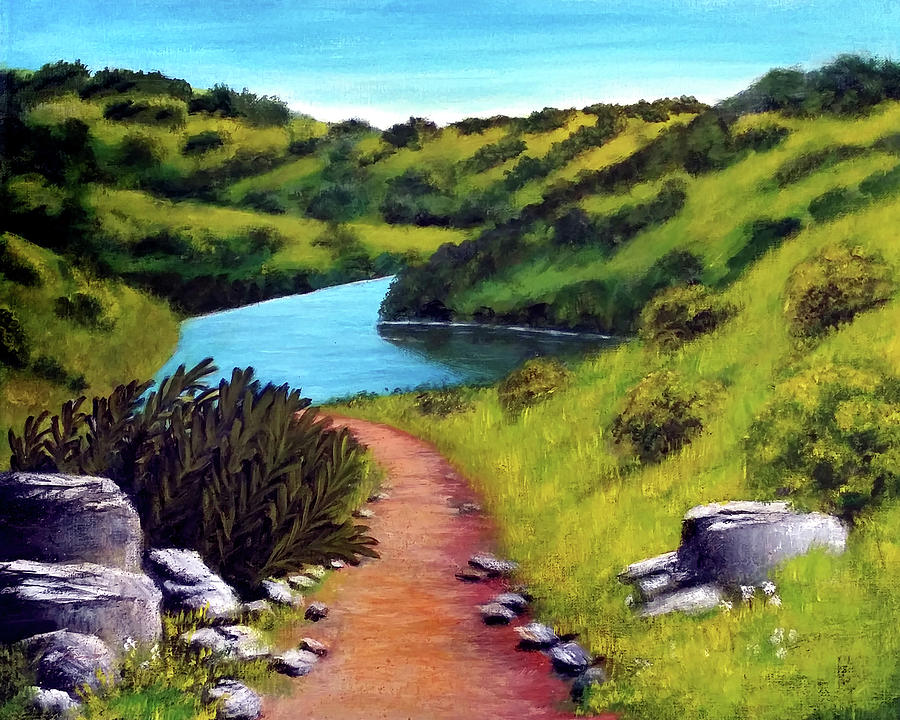 Inspiration Point by Barbara J Blaisdell
