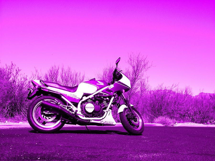 Motorcycle Photograph - Interceptor by David S Reynolds