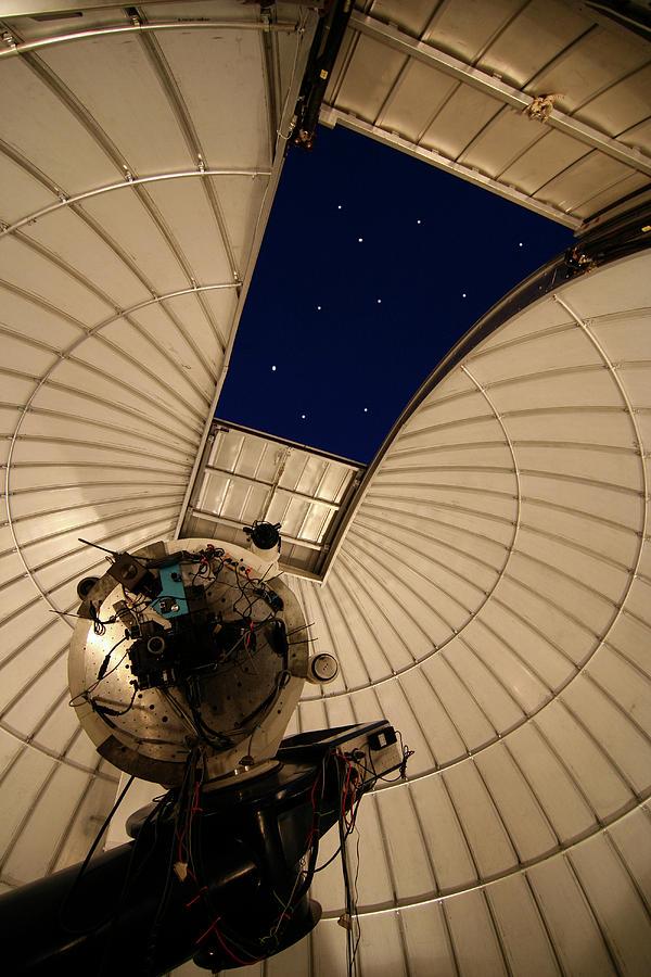 Interior Kitt's Peak Observatory by Carl Purcell