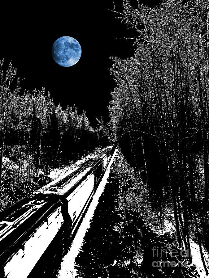 Moon Photograph - Into The Night Blues by The Stone Age
