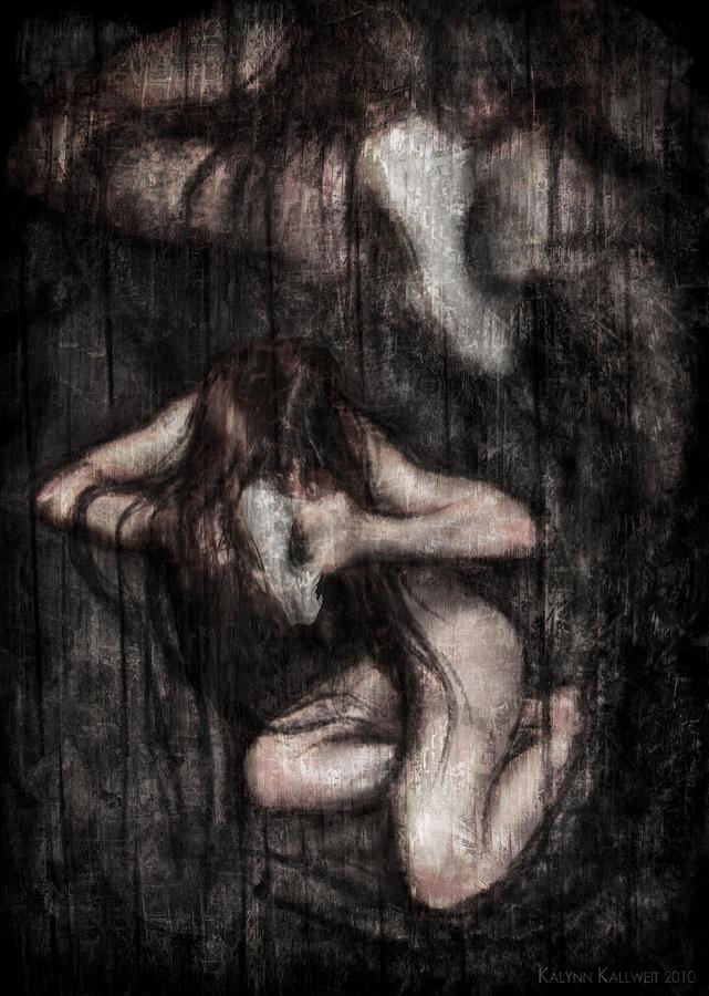 Possession Digital Art - Invoking Possession by Kalynn Kallweit