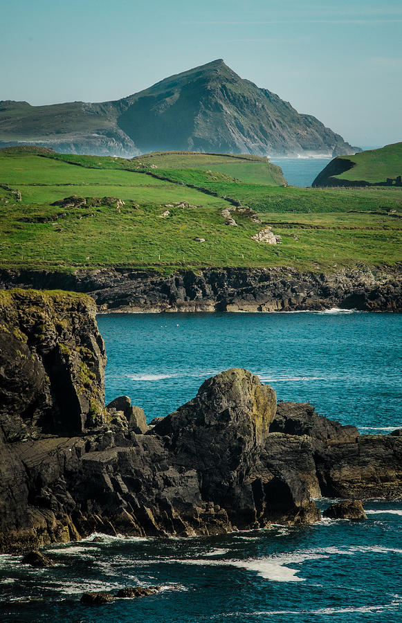Landscape Photograph - Irish Coastline by Fergal Gleeson