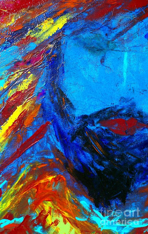 Kisses Painting - Ishi by Deborah Montana