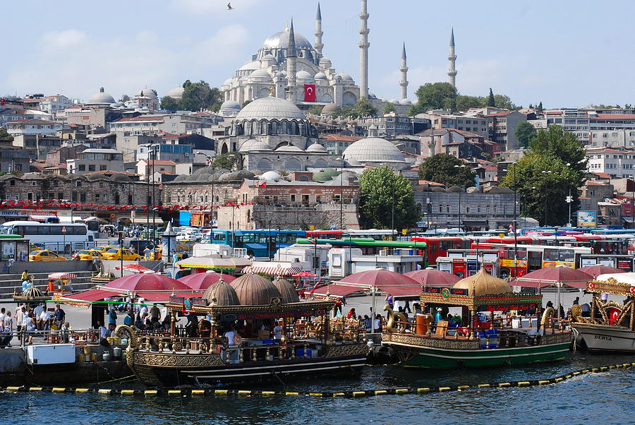 Istanbul Photograph - Istanbul by Andrea Simon
