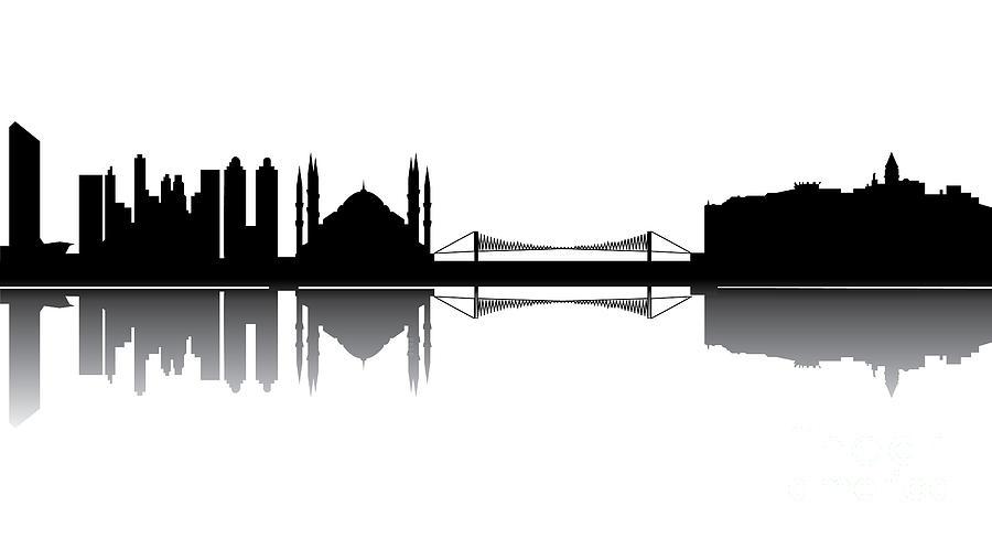 Istanbul Skyline Photograph