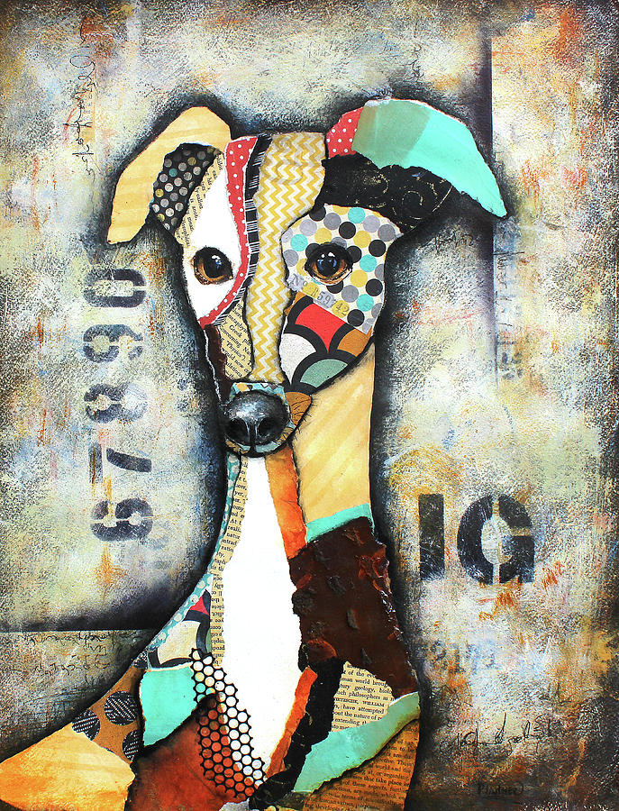 Italian Greyhound by Patricia Lintner