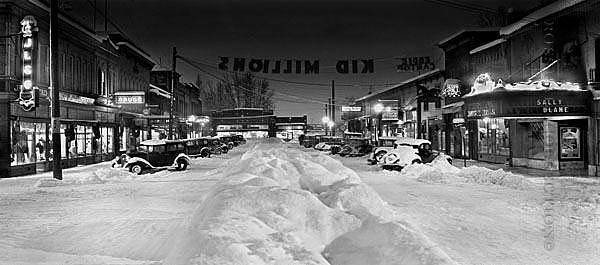 Snow Scene Photograph - Its A Wonderful Life by Ross Hall