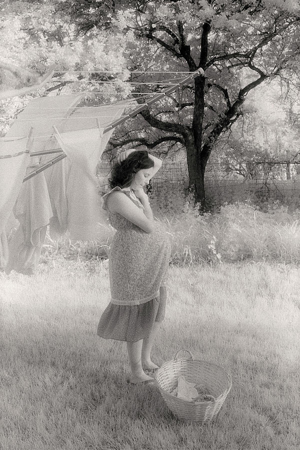 Pregnant Photograph - Its Time by Bruce Thompson