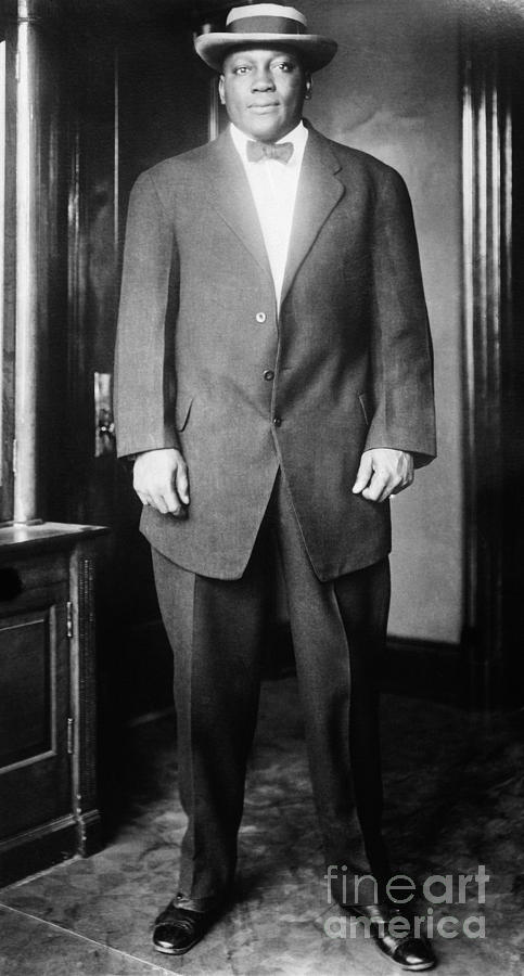 1910s Photograph - Jack Johnson (1878-1946) by Granger