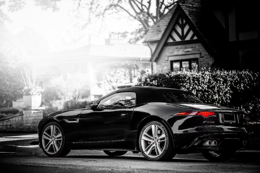 Jaguar Photograph - Jaguar F Type S  by Darek Szupina Photographer