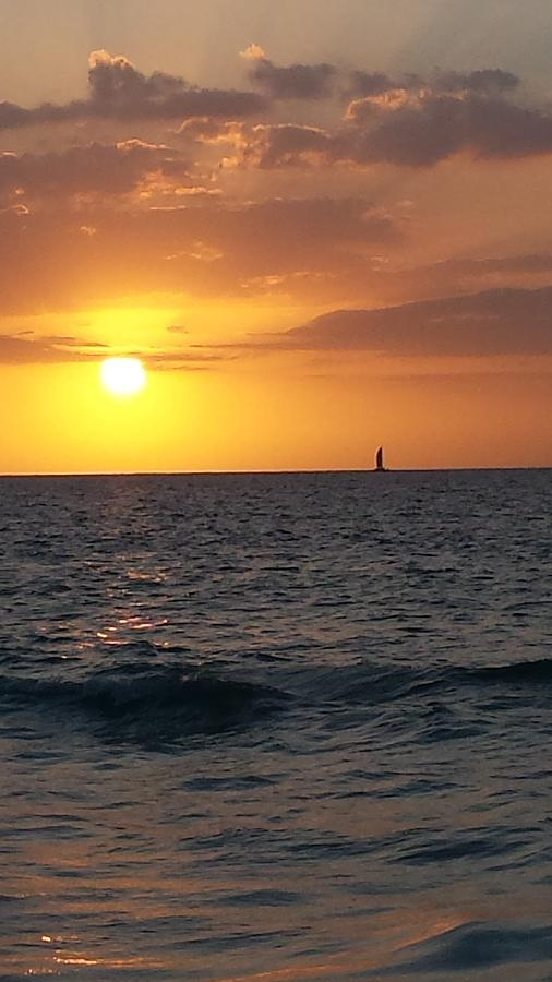 Jamaica Sunset by Debbie Levene