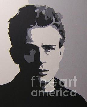 James Dean Painting - James Dean by Michael James Toomy