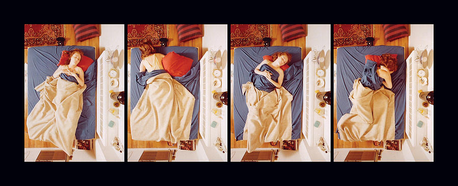 Sleep Photograph - Jane - Detail by Ted Spagna