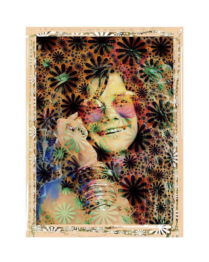 Joplin Mixed Media - Janis Joplin by Russell Pierce