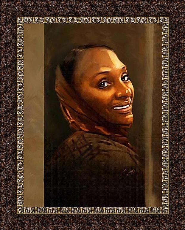 Carey Muhammad Painting - Jantrez by Carey Muhammad