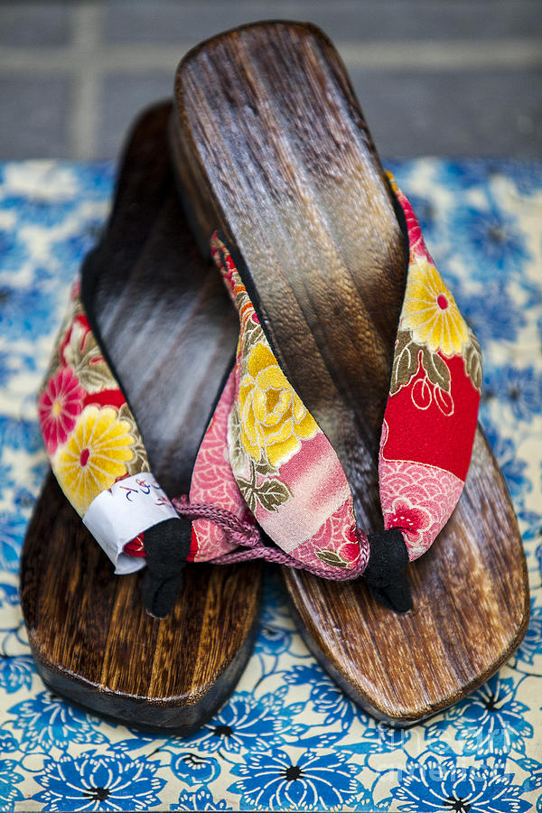 Japan Photograph - Japanese Sandals by Ben Johnson
