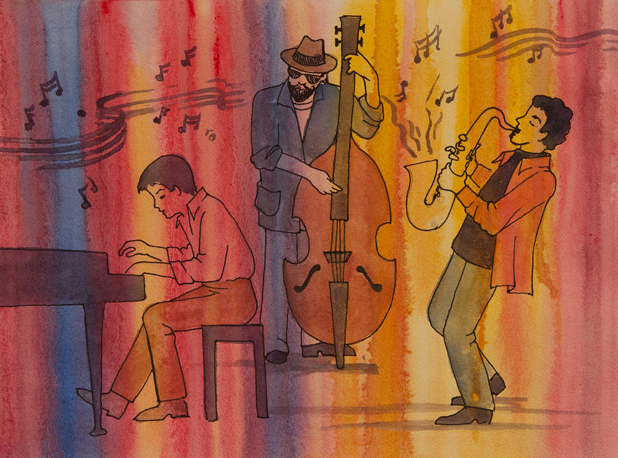 Jazz Trio by Heidi E Nelson