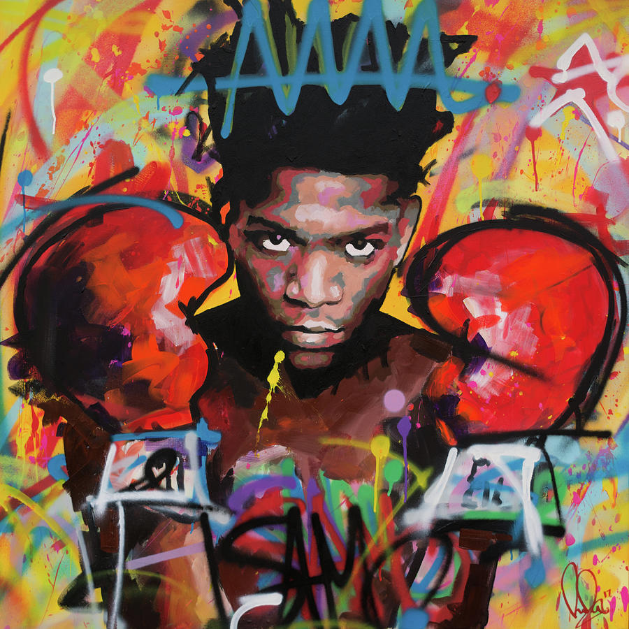 Jean Painting - Jean Michel Basquiat by Richard Day