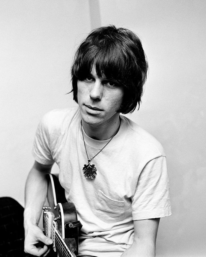 Jeff Beck 1966 Yardbirds by Chris Walter