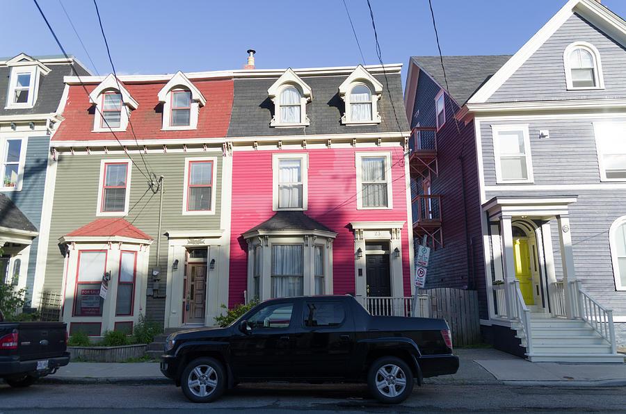 Jelly Bean Row >> Jelly Bean Row Houses 6 By Bob Corson