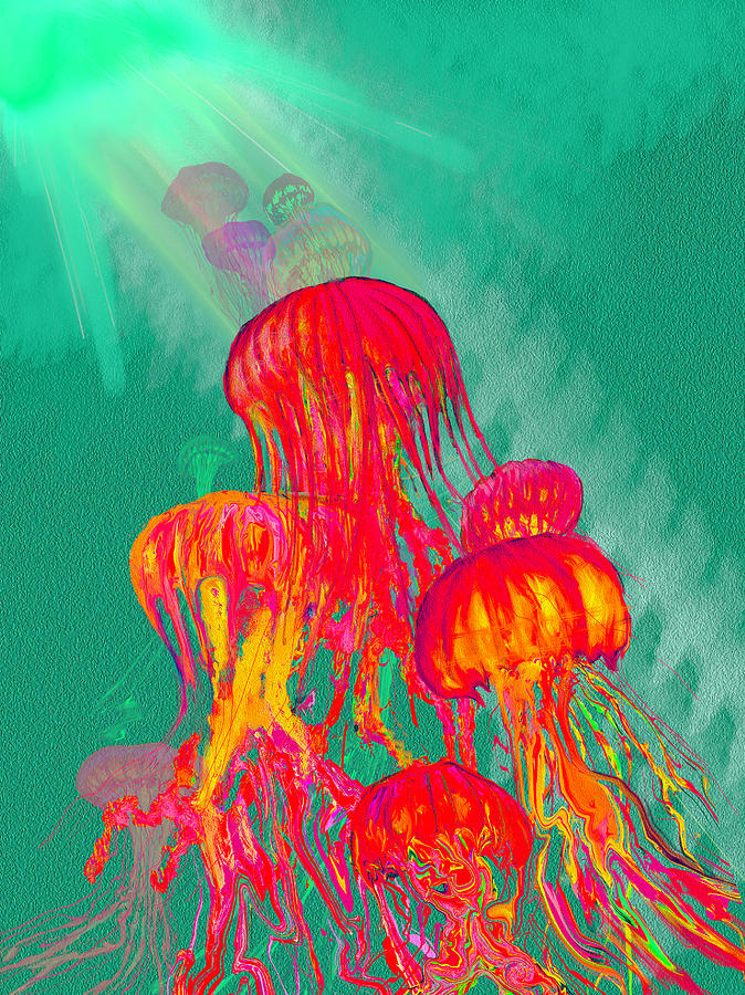 Jelly Painting - Jellys2 by Martin Hardy