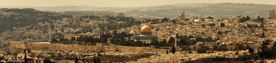 Jerusalem Photograph - Jerusalem by Amr Miqdadi