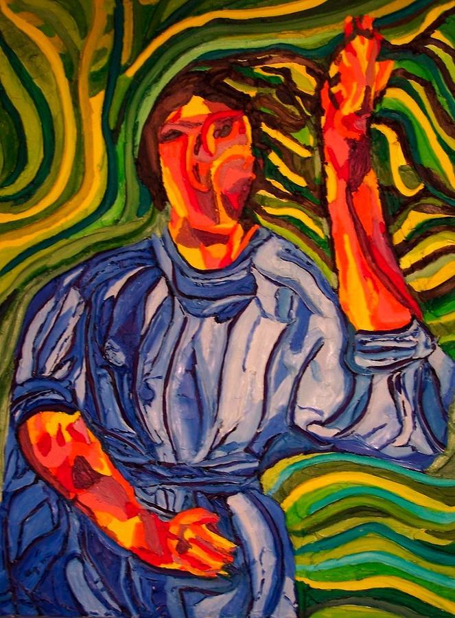 Jessica Painting by Ira Stark