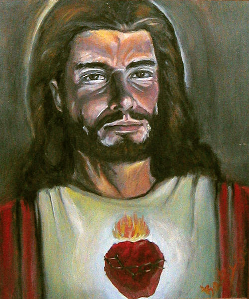 Portraits Painting - Jesus by Bobby Barredo