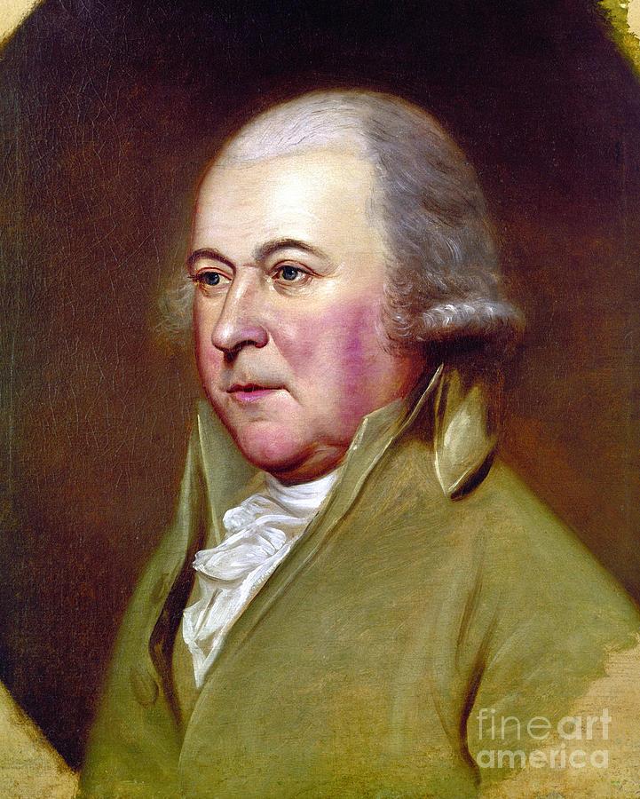 18th Century Photograph - John Adams (1735-1826) by Granger