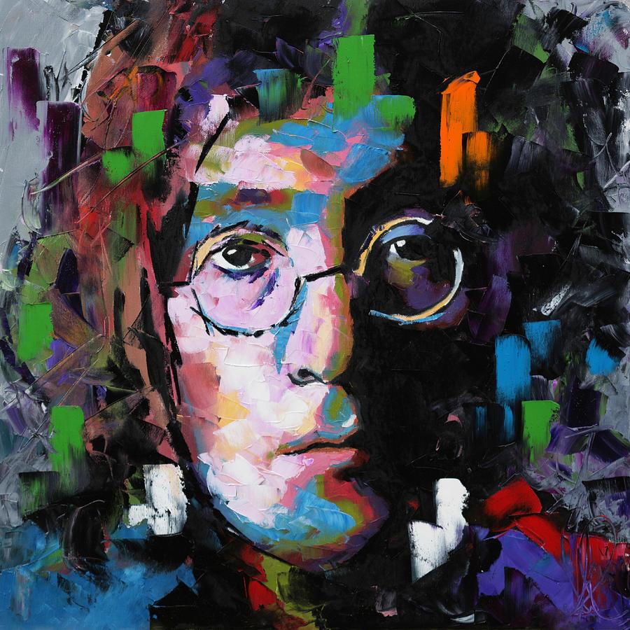 John Lennon Painting - John Lennon by Richard Day