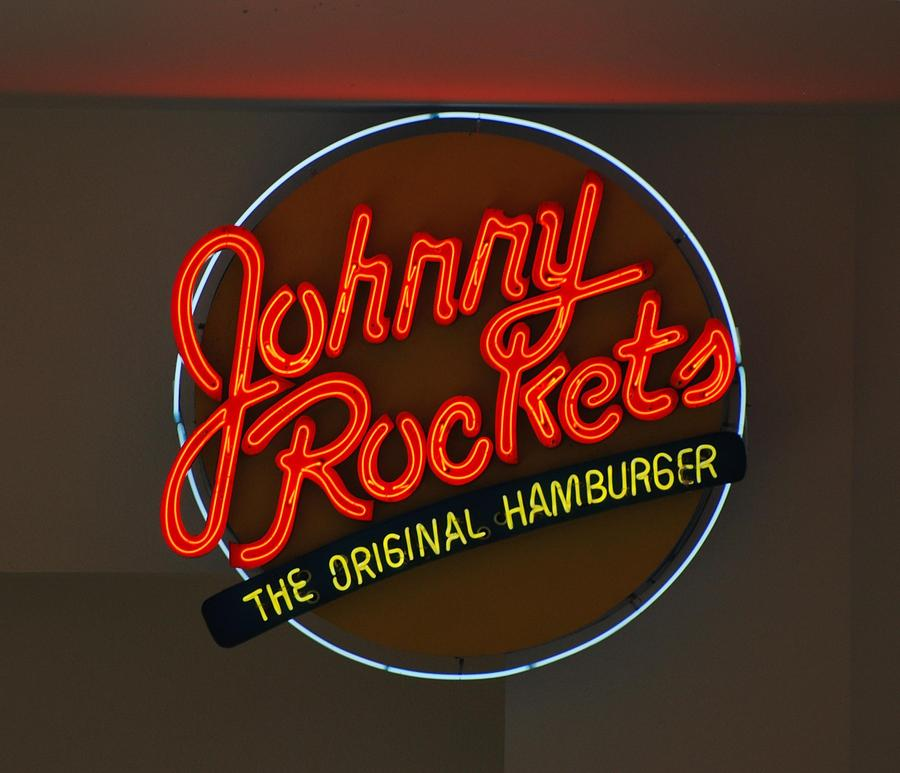 Macro Photograph - Johnny Rockets by Rob Hans