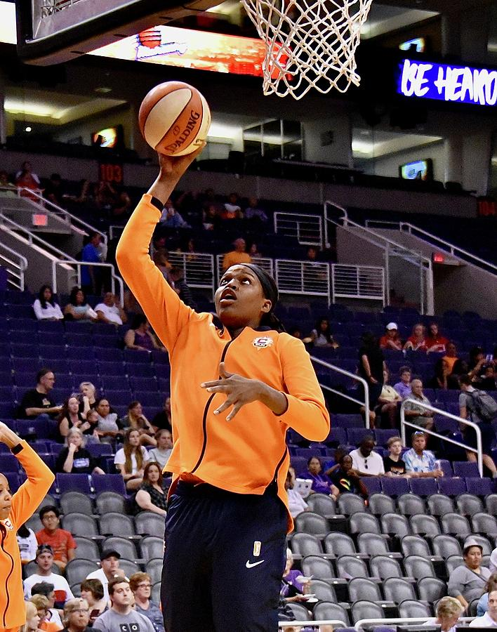 Wnba Photograph - Jonquel Jones 1 by Devin Millington