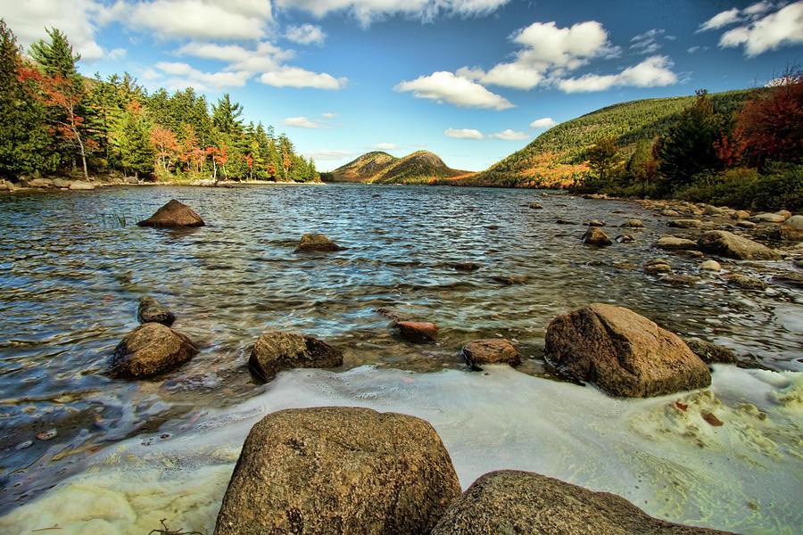 Acadia Photograph - Jordan Pond by Alexander Mendoza
