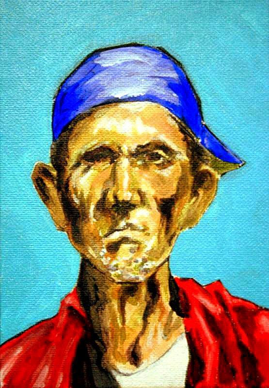 Portrait Painting - Jose by George Penon Cassallo