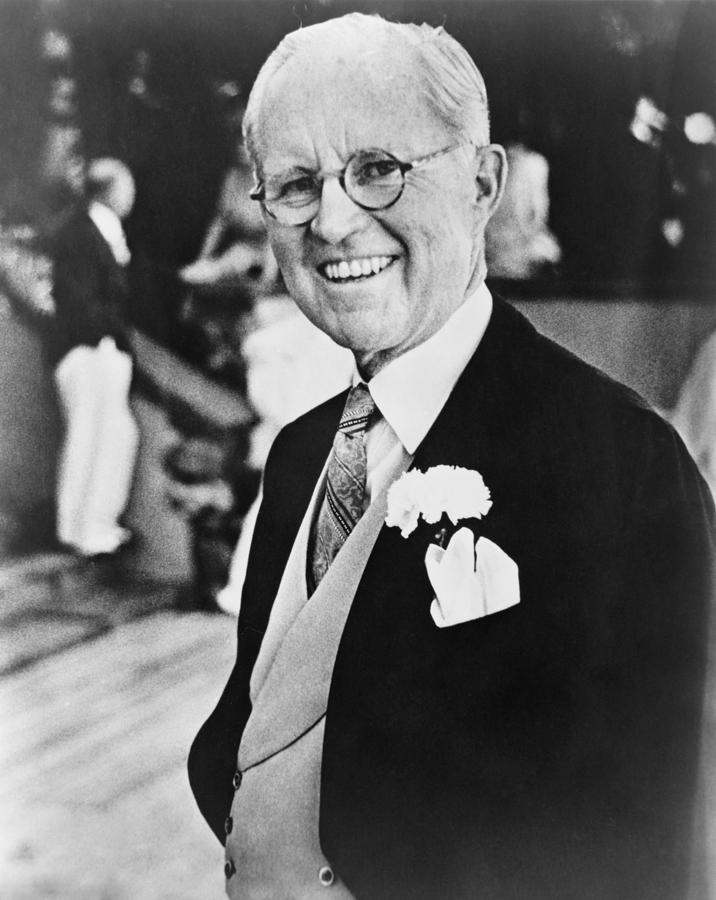 History Photograph - Joseph P. Kennedy 1888-1969 by Everett
